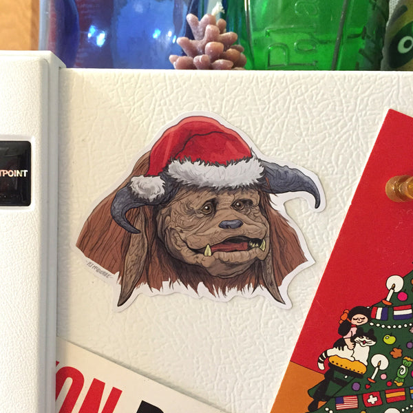 Ludo LABYRINTH Christmas Fridge MAGNET!