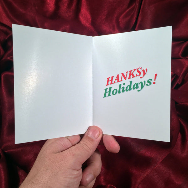 TOM HANKS Christmas CARD!