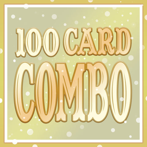 Any 100 Cards DISCOUNT COMB0!