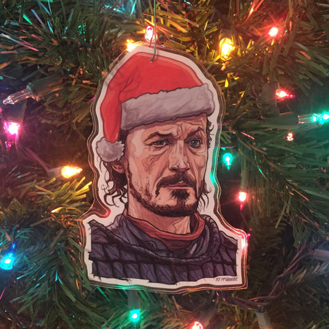 BRONN Game of Thrones CHRISTMAS ORNAMENT!