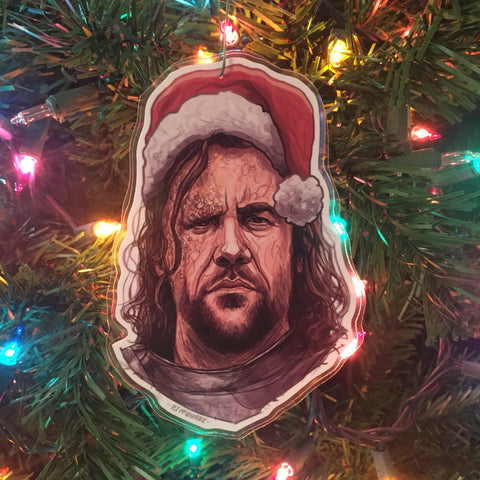 THE HOUND Game of Thrones Christmas ORNAMENT!