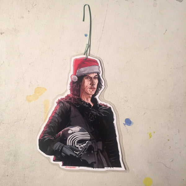 KYLO REN Star Wars Christmas ORNAMENT!