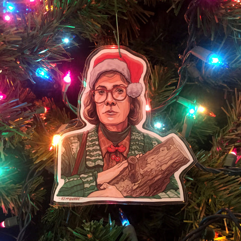 LOG LADY Twin Peaks Christmas ORNAMENT!
