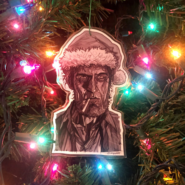 Woodsman TWIN PEAKS Christmas Ornament!