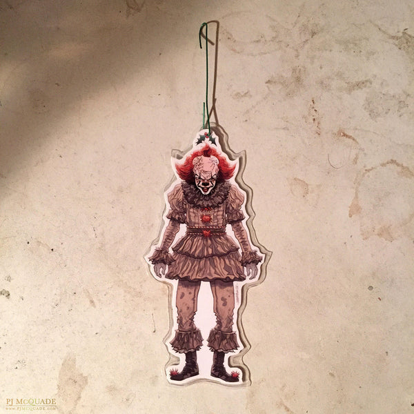 PENNYWISE 2017 It Christmas ORNAMENT!