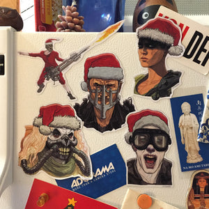 MAD MAX Christmas Fridge Magnet SET!