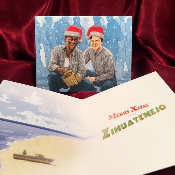 SHAWSHANK REDEMPTION Christmas CARD!