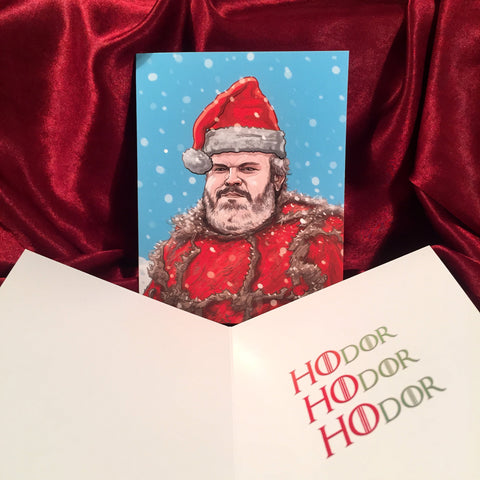 HODOR Game of Thrones Christmas CARD!