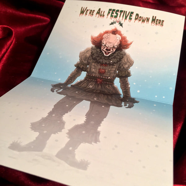 PENNYWISE 2017 IT Christmas CARD!