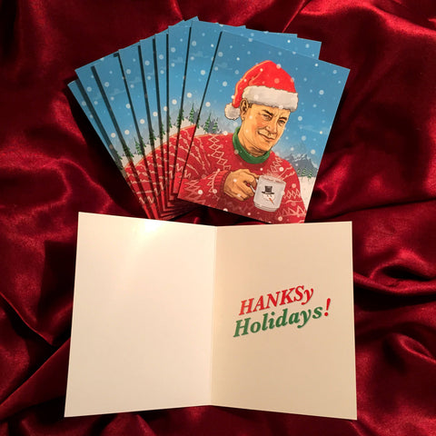 10 PACK TOM HANKS Christmas Cards!
