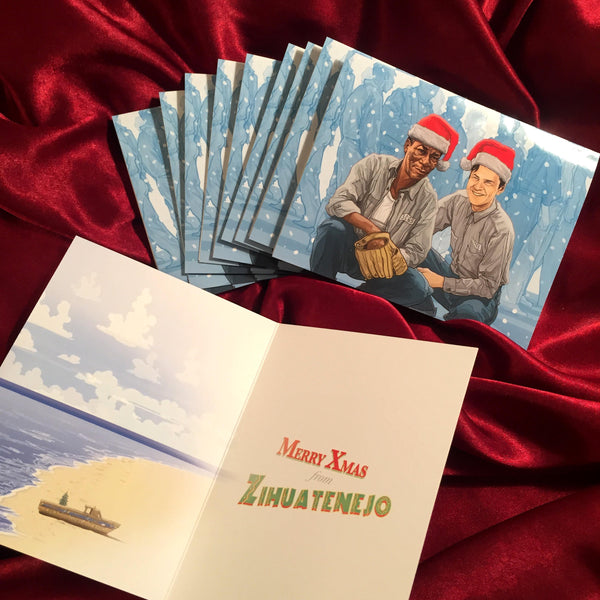 10 PACK SHAWSHANK REDEMPTION Christmas CARDS!