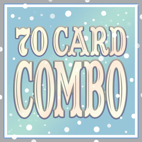 Any 70 Cards DISCOUNT COMBO!