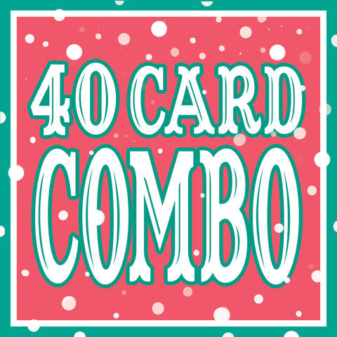 Any 40 Cards DISCOUNT COMBO!