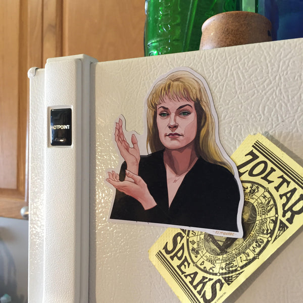 Laura Palmer TWIN PEAKS FRIDGE Magnet!