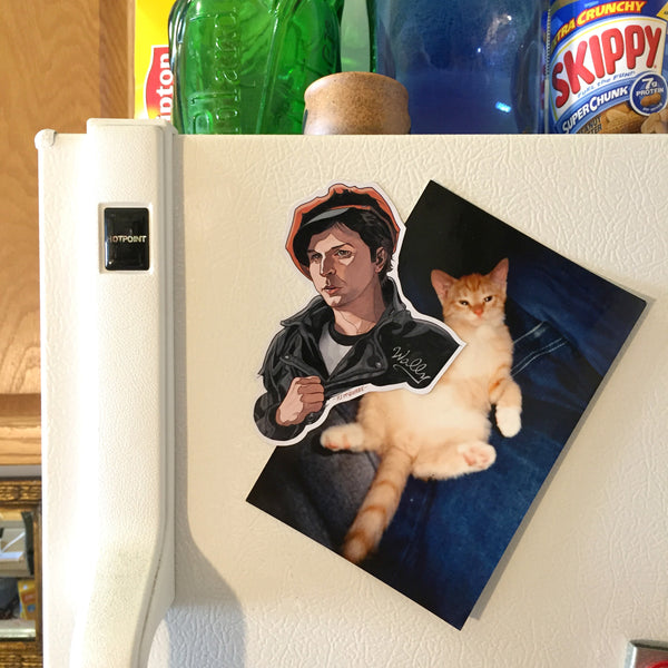 Wally Brando TWIN PEAKS FRIDGE Magnet!