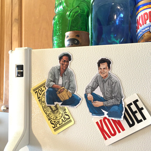 SHAWSHANK REDEMPTION Fridge Magnet SET!