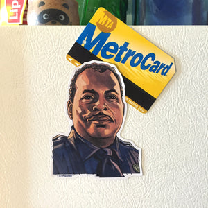 Sgt. Al Powell DIE HARD Fridge MAGNET!