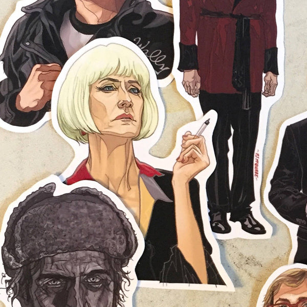 TWIN PEAKS Little STICKER Set!