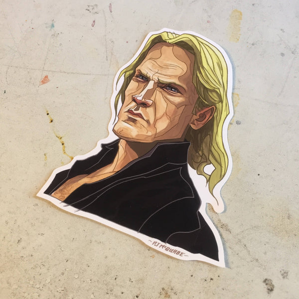 Karl DIE HARD Sticker!