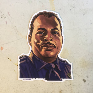 Sgt. Al Powell DIE HARD Sticker!