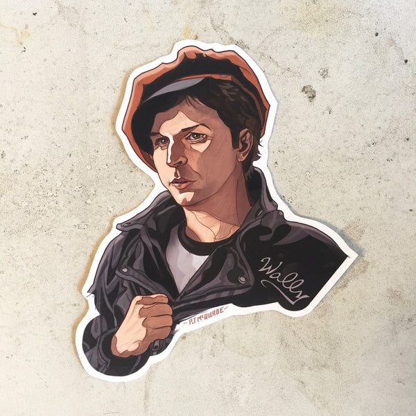 Wally Brando TWIN PEAKS STICKER!