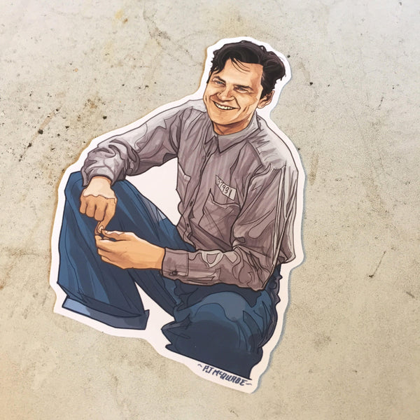 SHAWKSHANK REDEMPTION Andy Dufresne Waterproof Sticker!