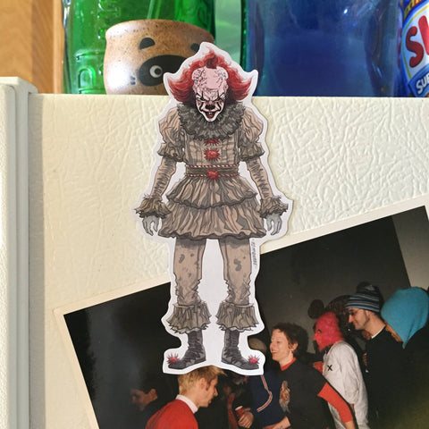 PENNYWISE 2017 FRIDGE MAGNET!