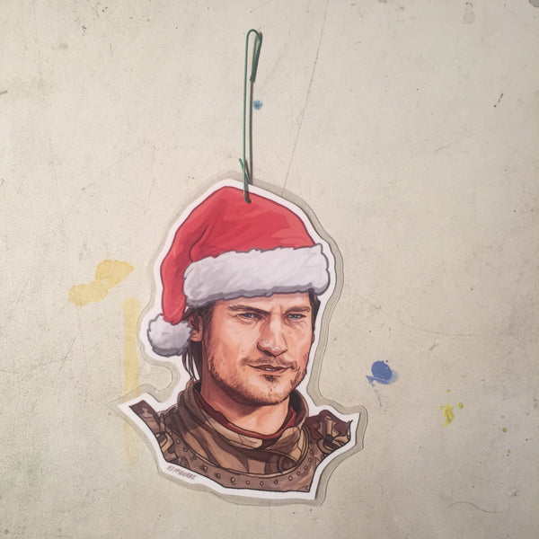 Jamie Lannister GAME of THRONES Christmas Ornament!
