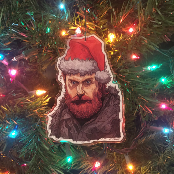 TORMUND Game of Thrones CHRISTMAS ORNAMENT!