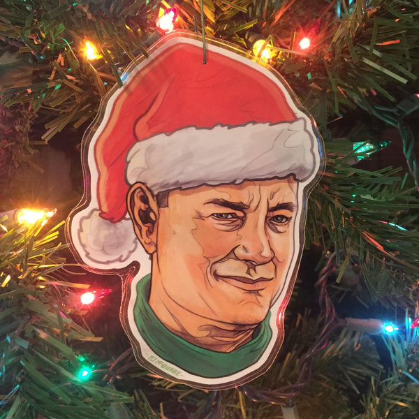 TOM HANKS Christmas ORNAMENT!