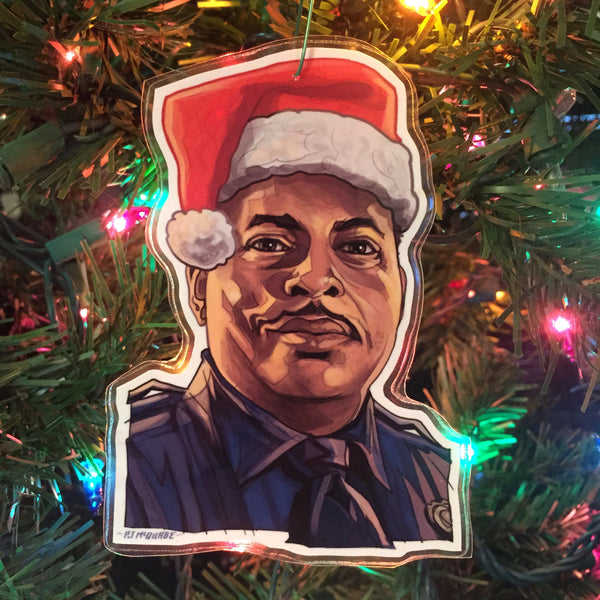 Sgt Al Powell DIE HARD Christmas ORNAMENT!
