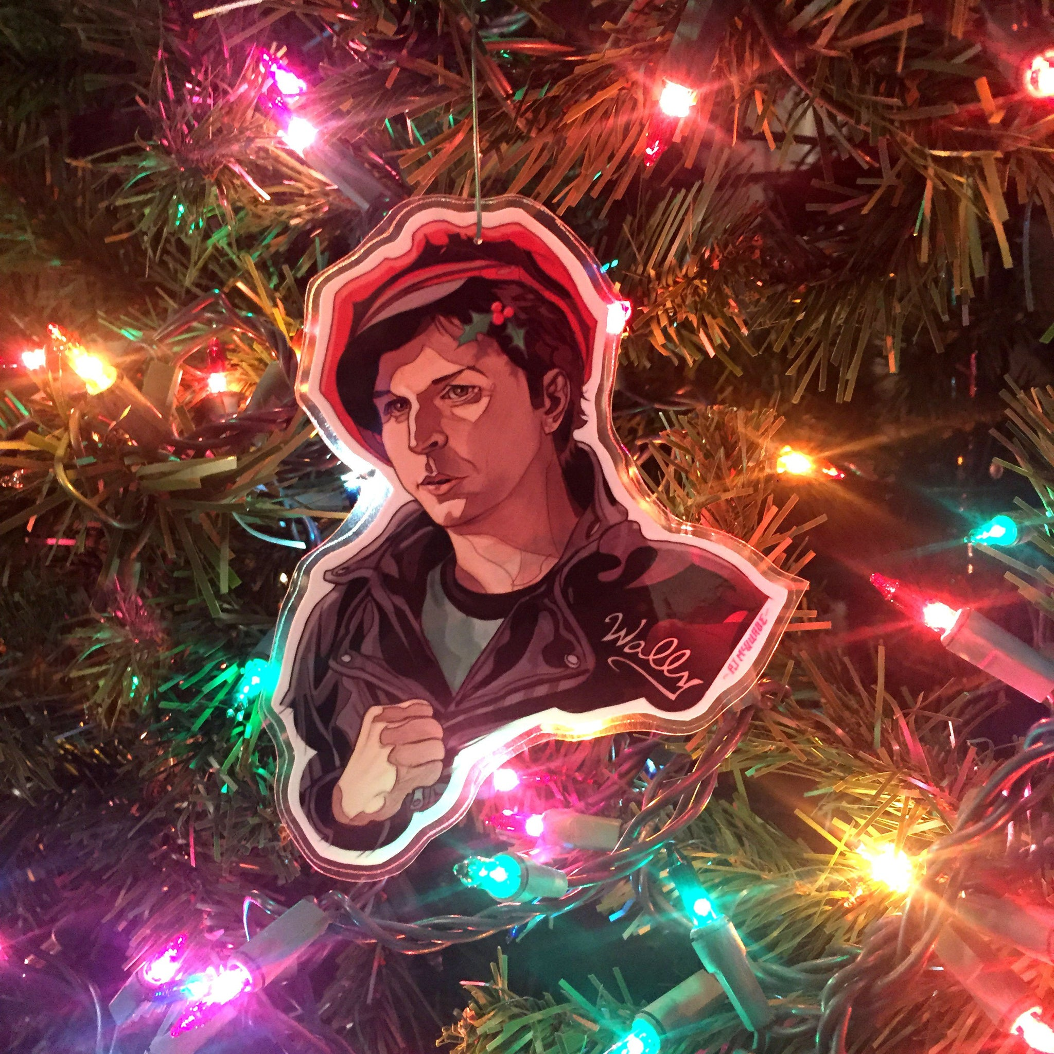 Wally Brando TWIN PEAKS Christmas ORNAMENT!