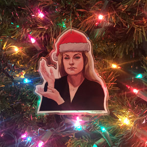 Laura Palmer TWIN PEAKS Christmas ORNAMENT!
