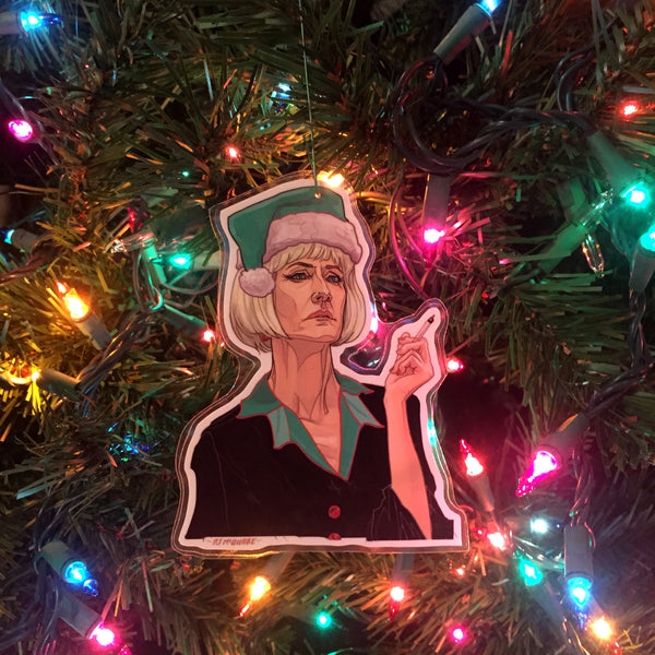 Diane TWIN PEAKS Christmas ORNAMENT!