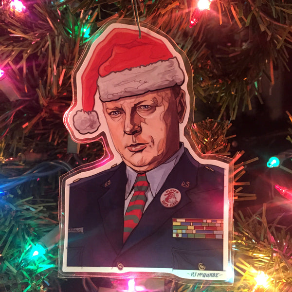 Major Garland Briggs TWIN PEAKS Christmas Ornament!