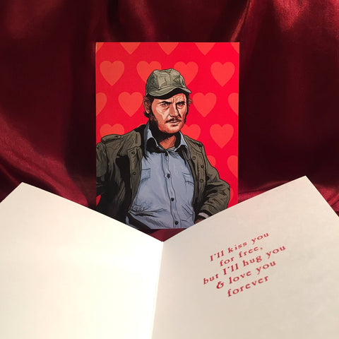 Quint JAWS VALENTINE'S DAY Card!