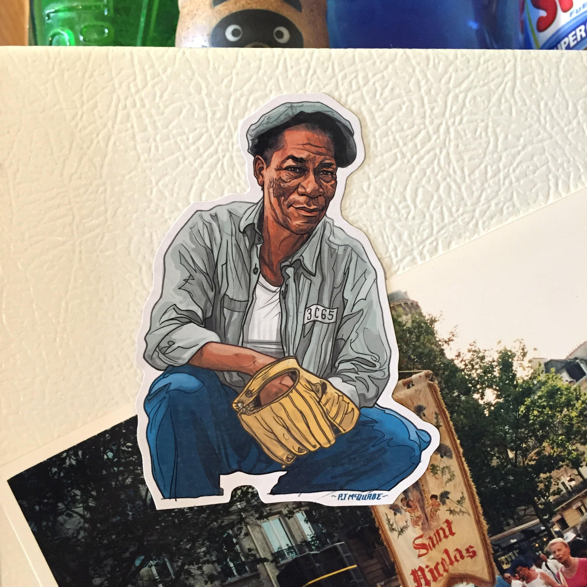 SHAWSHANK REDEMPTION Red Fridge Magnet!