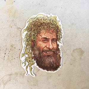 Tom Hanks CAST AWAY Waterproof STICKER!