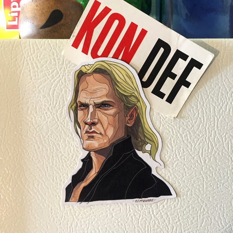 Karl DIE HARD FRIDGE Magnet!