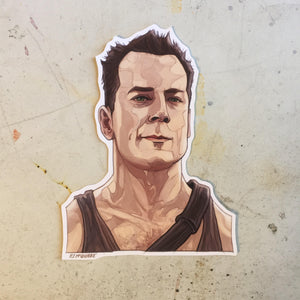 John McClane DIE HARD STICKER!
