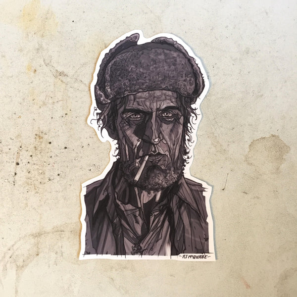Woodsman TWIN PEAKS STICKER!