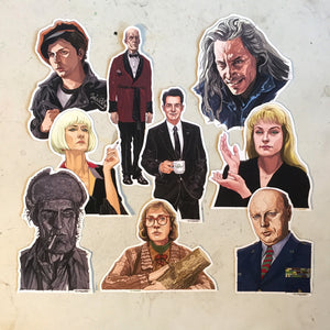 Twin Peaks STICKER SET!
