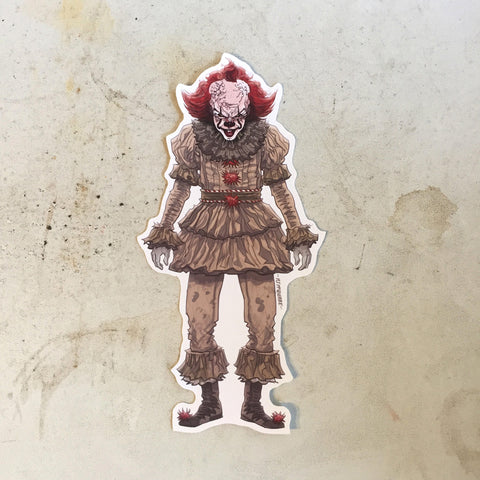 PENNYWISE 2017 Waterproof STICKER!