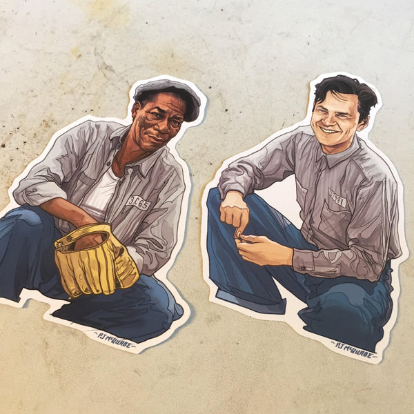 SHAWSHANK REDEMPTION Waterproof Stickers SET!!