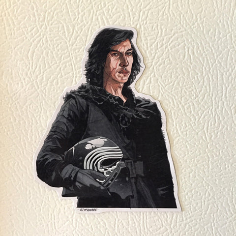 KYLO REN STAR WARS FRIDGE Magnet!