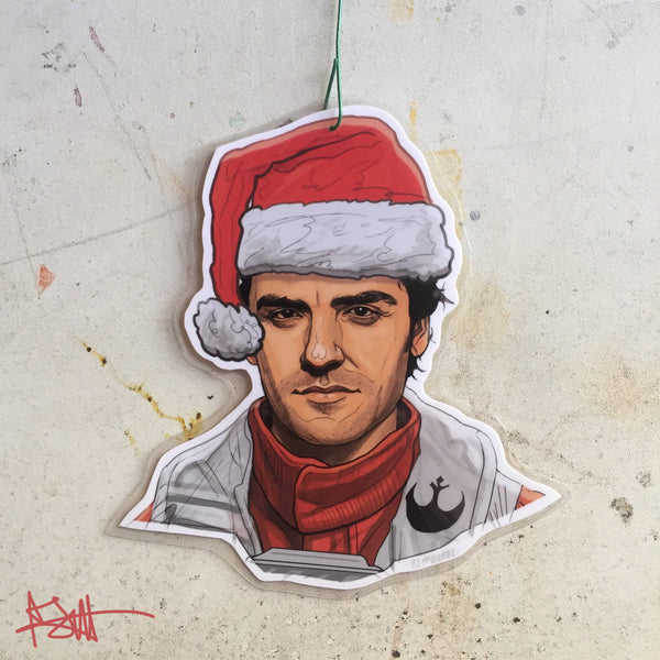 Poe Dameron STAR WARS Christmas Ornament!