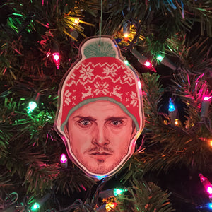 Jesse Pinkman BREAKING BAD Christmas Ornament