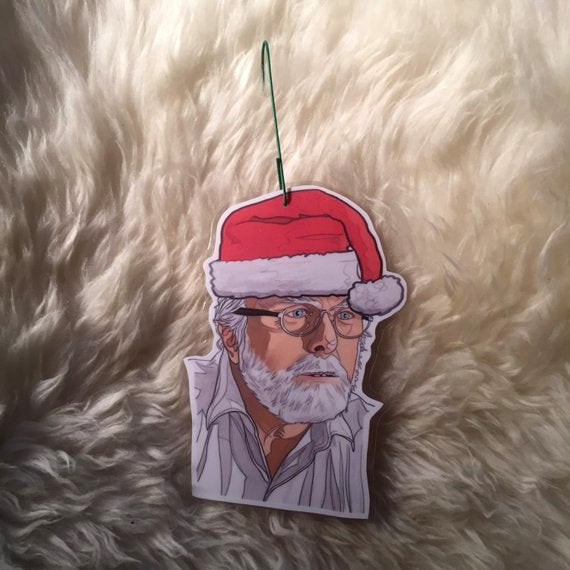 John Hammond JURASSIC PARK Christmas ORNAMENT!