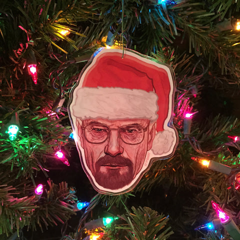 WALTER WHITE Breaking Bad Christmas ORNAMENT!
