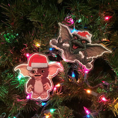 GREMLINS Combo Set CHRISTMAS ORNAMENTS!